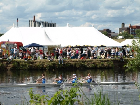 Burton Regatta Riverside Attractions
